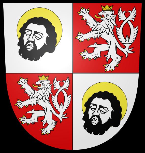 pierwszy oficjalny herb miasta Wrocławia z XiV w.