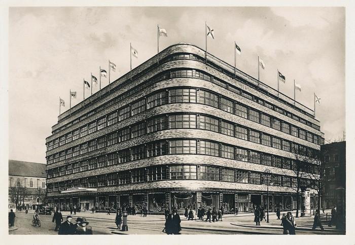 """fot. Dom Handlowy """"Wertheim"""" w latach 30. XX wieku"""
