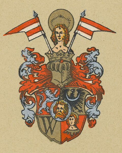 Oficjalny herb Wrocławia nadany miastu w 1530 roku.