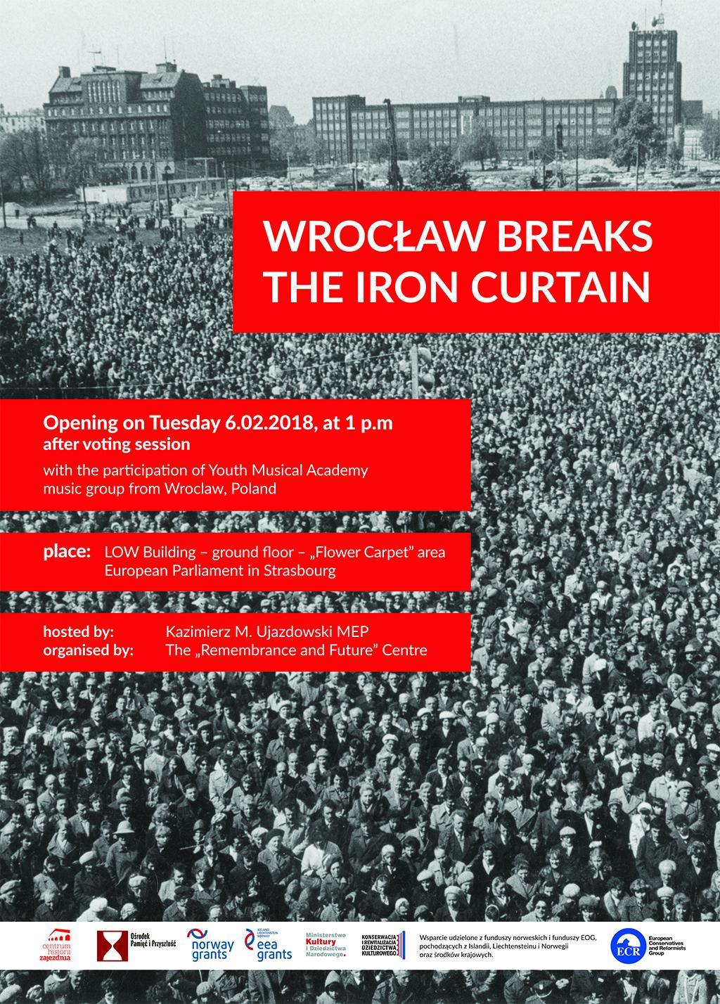 Wrocław breaks the Iron Curtain_plakat