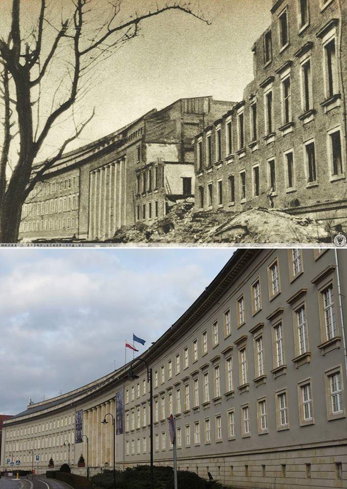 """""""Neue"""" Regierung 1945 Dolnośląski Urząd Wojewódzki 2018."""