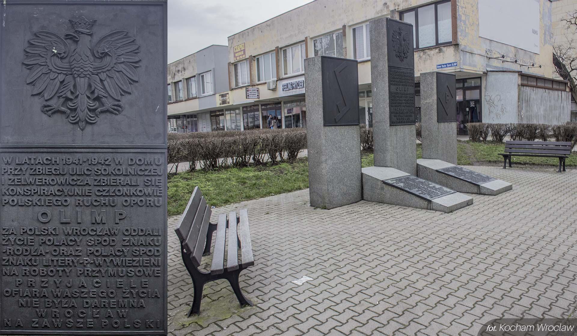 Pomnik organizacji Olimp PW