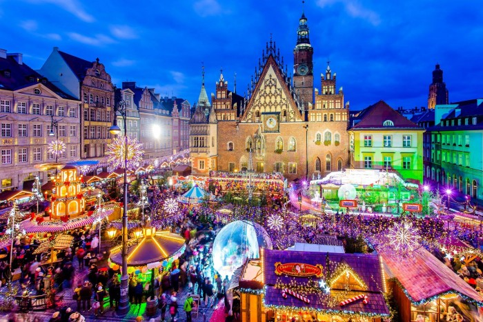 fot. Jarmark Bożonarodzeniowy we Wrocławiu