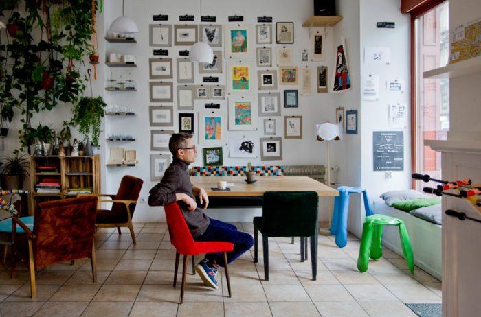 kawiarnia, praca zdalna