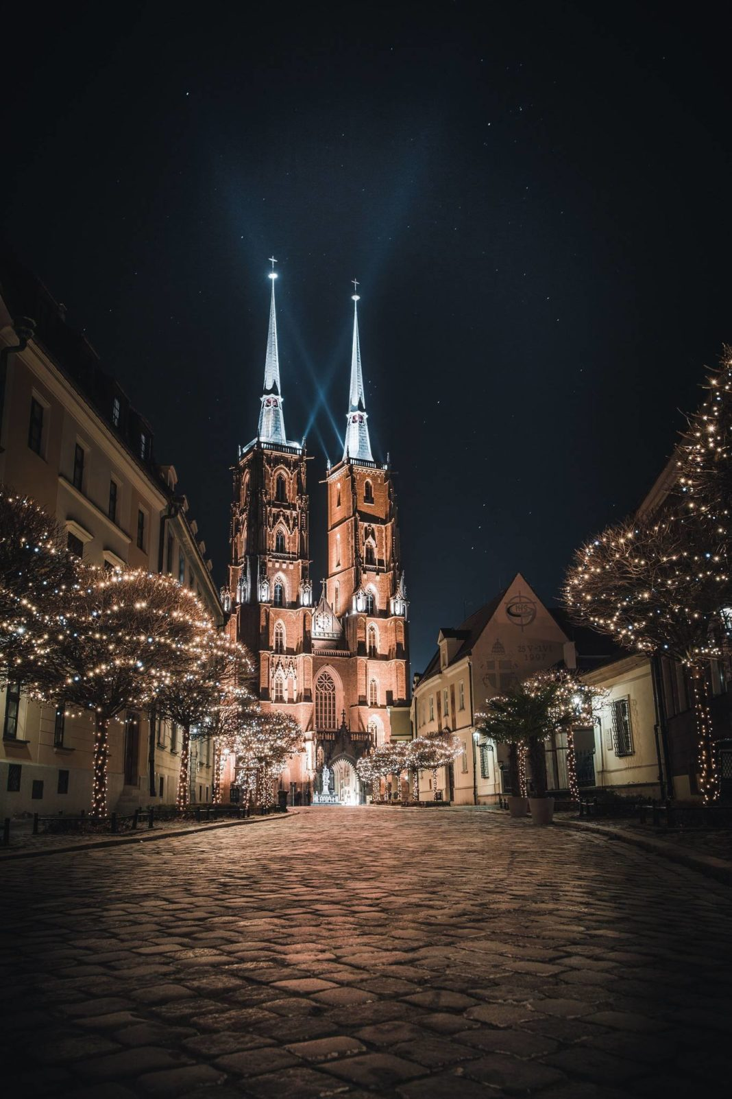 zimowy spacer po Wrocławiu