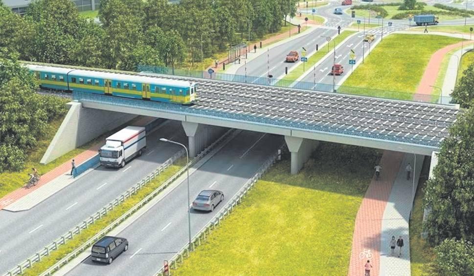 Projekt nowego wiaduktu
