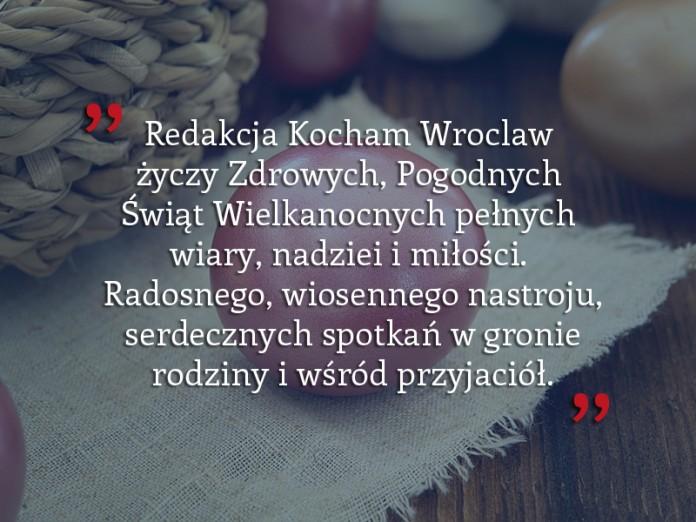 Życzenia Kocham Wroclaw